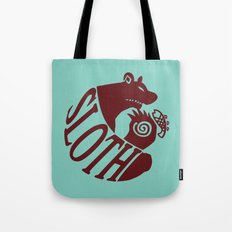 The Grizzly's Sin of Sloth Tote Bag