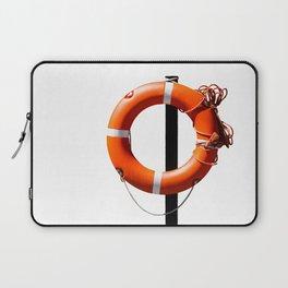 Orange live saving ring Laptop Sleeve