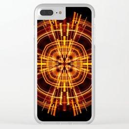 Static Clear iPhone Case