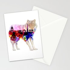 American Wolf Stationery Cards