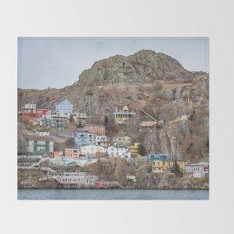 Newfoundland 4 Throw Blanket