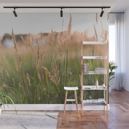 Countryside Summer Sunsets Wall Mural