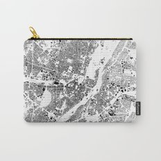 Munich Map Schwarzplan Only Buildings Carry-All Pouch