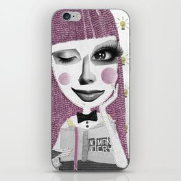 I think therefore I am... single iPhone Skin