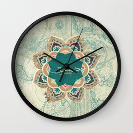 Damascus Wall Clock
