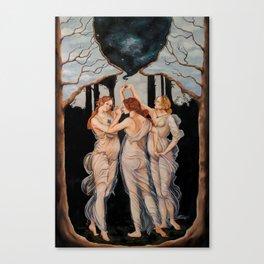 The Three Seekers Canvas Print