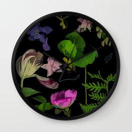 Secret Garden Wall Clock