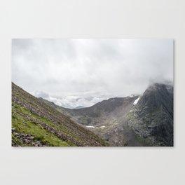 Ben Nevis Mountain Ridge Canvas Print