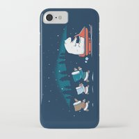 grand theft auto iPhone & iPod Cases featuring Grand Theft Arctic by maudie&ma