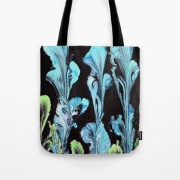 Blue Iris Flowers Tote Bag
