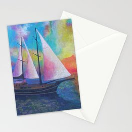 Bodrum Turquoise Coast Gulet Cruise Stationery Cards