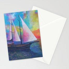 Bodrum Turquoise Coast Gulet Cruise Stationery Cards