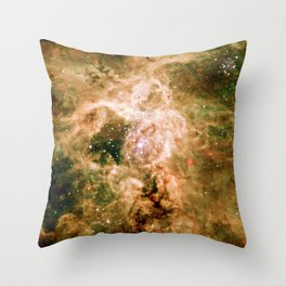 Supernova remnant NGC 2060 Throw Pillow