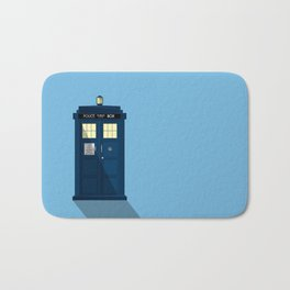 The TARDIS Bath Mat