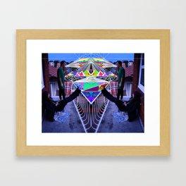 No Net Framed Art Print