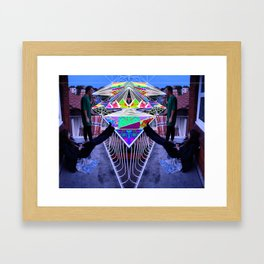 No Net Framed Art Print