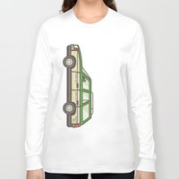 beaver Long Sleeve T-shirts featuring Beaver Whack by MegDraws