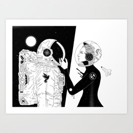 I Found a Space for Us Art Print