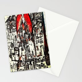 my love letter to Israel Stationery Cards