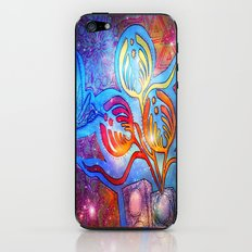 Cosmic Hummingnectar iPhone & iPod Skin