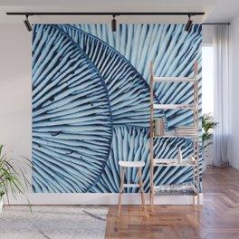 Enoki in Blue Wall Mural