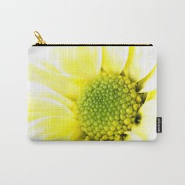 Yellow Daisy Macro Nature Photography Carry-All Pouch