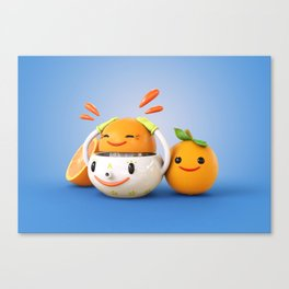 Happy Squeezer Canvas Print