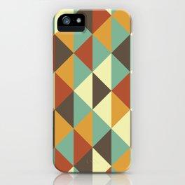Triangle stencil iPhone Case