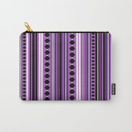 Verticals violet Carry-All Pouch