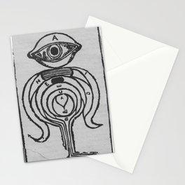 golem  fang Stationery Cards