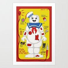 Stuff in the Stay Puft Art Print