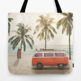 Traveling Time Tote Bag