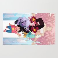 steven universe Area & Throw Rugs featuring Steven by clayscence