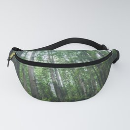 Redwood Forest Adventure IV - National Parks Nature Photography Fanny Pack