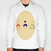 deathly hallows Hoodies featuring the deathly hallows by endlesstakeout