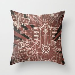 CB450 Japan Throw Pillow