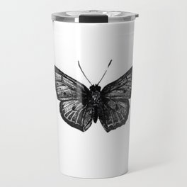 Minimalista borboleta 1 Travel Mug
