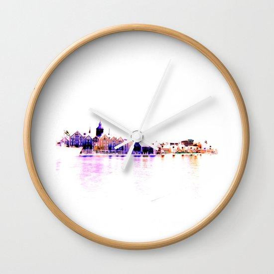 white harbor III. Wall Clock