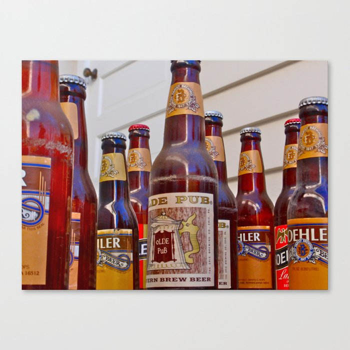 What the World Needs Now...is Beer! Canvas Print