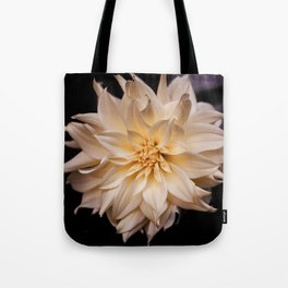 White isolated flower Tote Bag