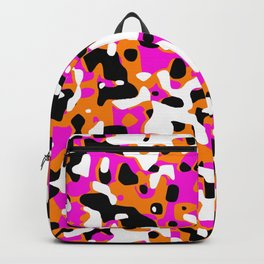 Uncovered Camouflage Neon Pink Backpack