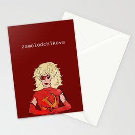 the only high class russian wh*re Stationery Cards