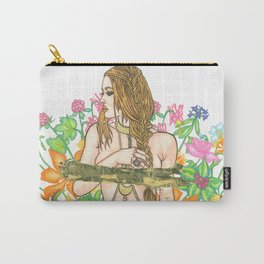 Where The Wild Things Grow Carry-All Pouch
