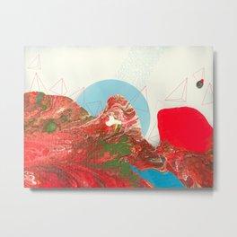 Spatial Recognition - Alien Worlds Metal Print
