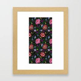 Flores de Arte Framed Art Print