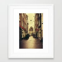 amsterdam Framed Art Prints featuring Amsterdam by Pati Designs & Photography