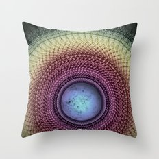 Imperceivable Worlds Throw Pillow