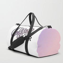 Coffee Not War (Unicorn) Duffle Bag