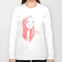 karen Long Sleeve T-shirts featuring Karen Gillan by josie leigh