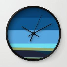 Santa Monica Horizon 0203 Wall Clock